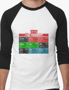 ae'm 3D modeler Men's Baseball ¾ T-Shirt