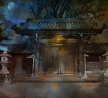 GATE..Asian  Moon. by andy551