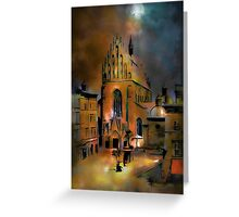 Dominican Church Greeting Card