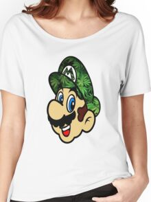 Weed Mario Women's Relaxed Fit T-Shirt