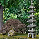 Japanese Stone Pagoda by davidgnsx1