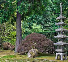 Japanese Stone Pagoda 2 by davidgnsx1