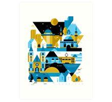 Sarajevo Art Print