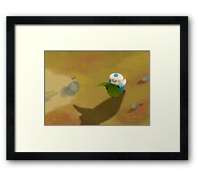 Little wizard Framed Print