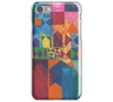 City With Full Moon iPhone Case/Skin