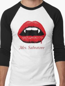 Mrs Salvatore Men's Baseball ¾ T-Shirt