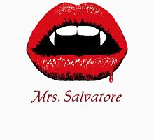 Mrs Salvatore Womens Fitted T-Shirt