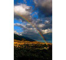 Hawaiian Rainbow Photographic Print