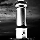Kiama Lighthouse in Black &amp; White by Evita
