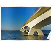 Zealand Bridge Poster