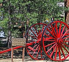 LOGGING WITH THE HIGH WHEELS by Chuck Gardner