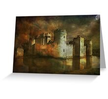 Bodiam Castle.... Greeting Card