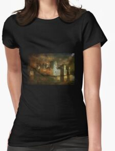 Bodiam Castle.... Womens Fitted T-Shirt