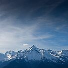 Blue Mountain by Angel Benavides