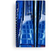 London Automobile reflection 2 Canvas Print