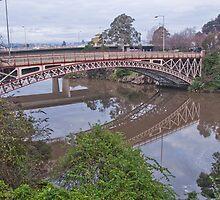 Kings Bridge Launceston by Sonya Byrne
