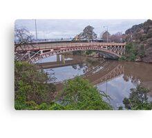 Kings Bridge Launceston Canvas Print
