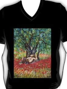 PAN, OLIVE TREE AND POPPY FIELDS T-Shirt