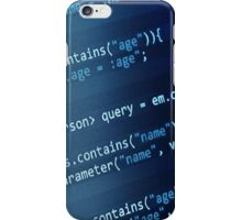 Programming Code iPhone Case/Skin