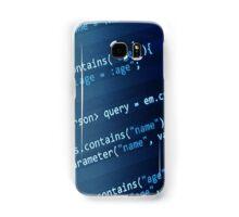 Programming Code Samsung Galaxy Case/Skin