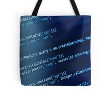 Programming Code Tote Bag
