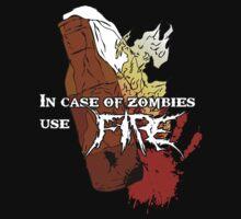 Molotov + Zombies = FIRE. by Allen Blair III