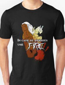 Molotov + Zombies = FIRE. T-Shirt