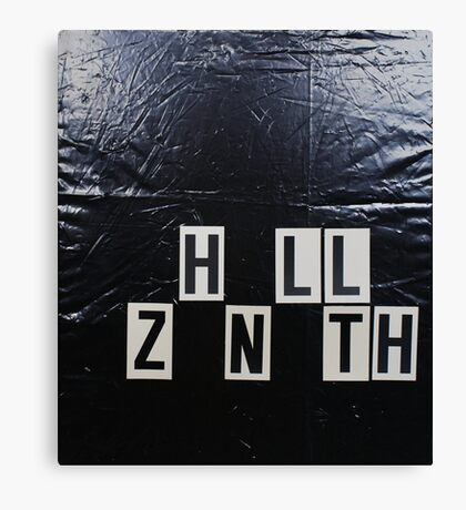 HELLO ZENITH Canvas Print