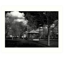 The Band Stand Art Print