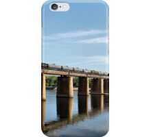 Trestle on the River iPhone Case/Skin