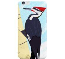 Pileated Woodpecker in Winter iPhone Case/Skin