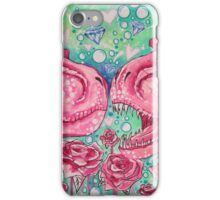 Glorified Trex Queens of Jurassic Dinos iPhone Case/Skin