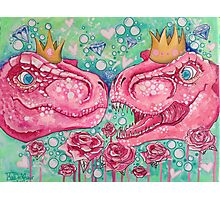 Glorified Trex Queens of Jurassic Dinos Photographic Print