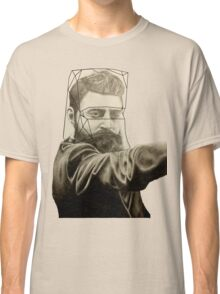 The Man Behind the Mask Classic T-Shirt