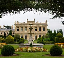 Brodsworth Hall in Summer by Theresa Elvin