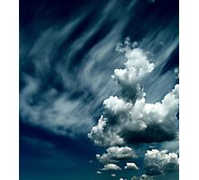 Cloud Bust Photographic Print