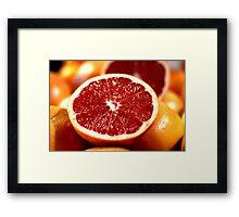 Blood Oranges Framed Print