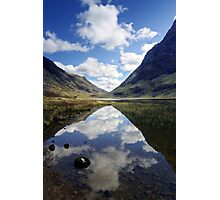 Reflections on a Scots Lake Photographic Print