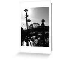 Santa Cruz Beach Boardwalk, California Greeting Card