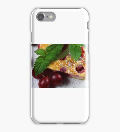 Gooseberry Tarte With Vanilla Cream iPhone Case/Skin