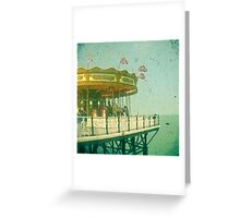 Carousel by the Sea Greeting Card