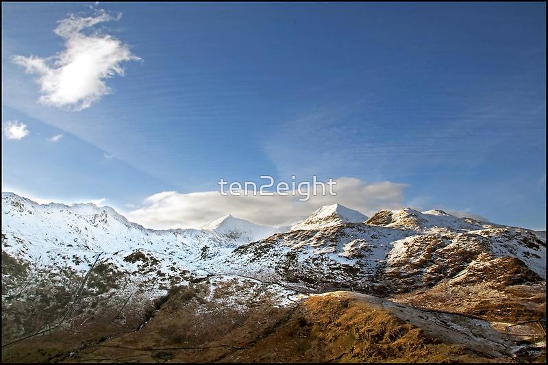 Snowdon and Crib Goch by ten2eight