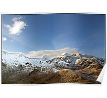 Snowdon and Crib Goch Poster