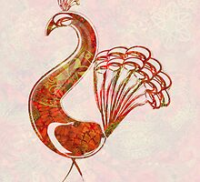 Tatoo Mandala Peacock - 5 by DreaMground