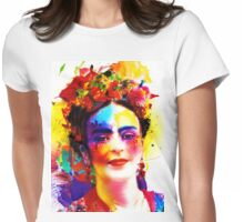 """Frida Kahlo"" Womens Fitted T-Shirt"