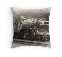 Flying Scotsman Throw Pillow