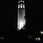 Coit Tower by Amos White