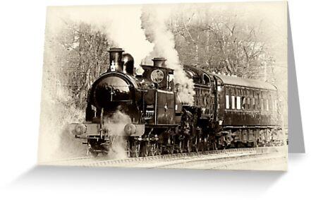 Vintage Steam by Trevor Kersley