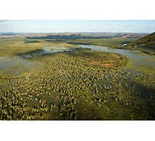Wetlands illustrated Photographic Print
