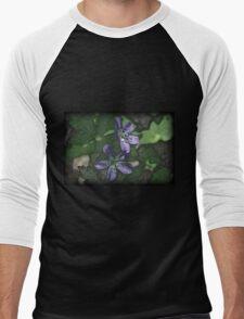 Floral Men's Baseball ¾ T-Shirt